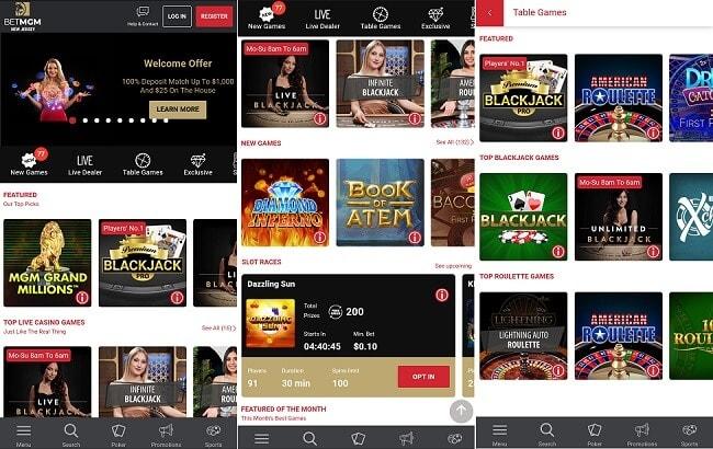 BetMGM Casino Android app