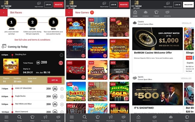 BetMGM Casino iPhone app