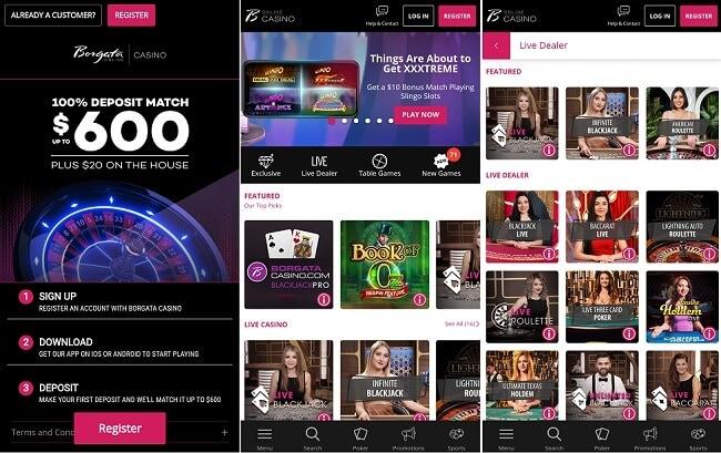 Borgata Casino App Android