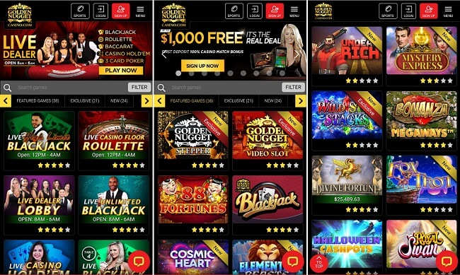Golden Nugget Slots Online Android