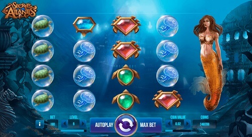 Secrets of Atlantis Slots game