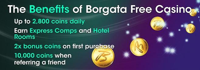 Borgata Free Casino Coins