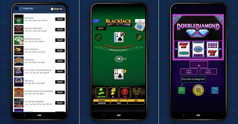 FanDuel Casino iPhone app