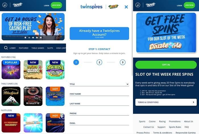 TwinSpires Casino app iPhone