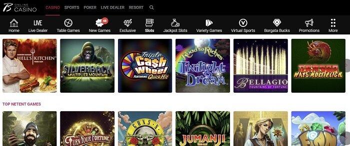 Borgata Online Casino Slots