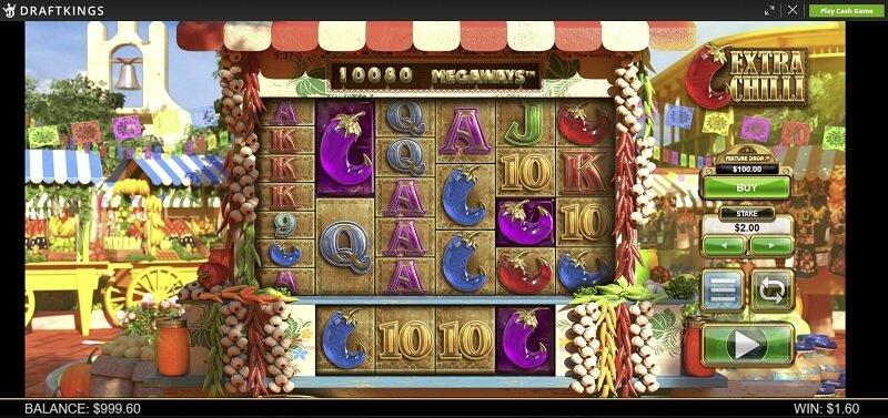 Extra Chilli Megaways slot game