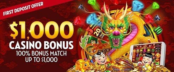 Slot bonus at Caesars Casino online