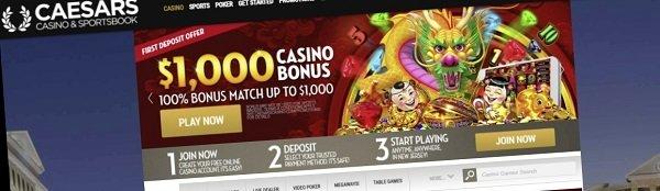 best slots at Caesars online casino
