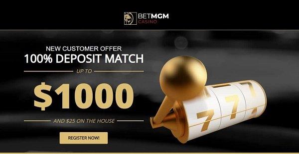 BetMGM casino promo code