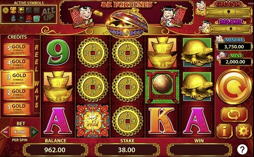 88 Fortunes Golden Nugget Slot