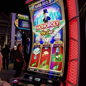 Monopoly slot game, Las Vegas