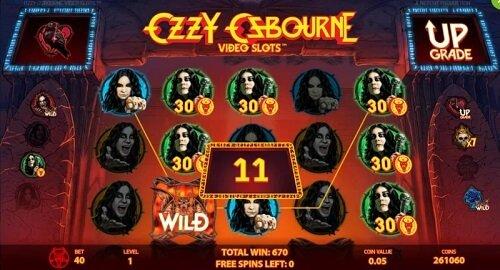 Ozzy Osbourne slot machine game