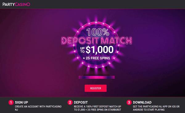 Party Casino bonus code 2021