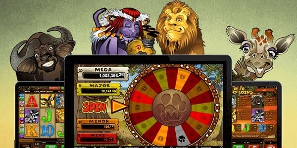 Mega Moolah Android Slots game